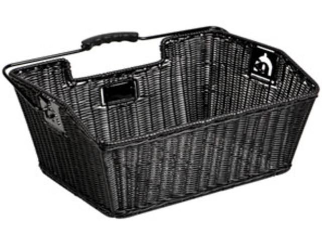 Unix Mateo Rear Wheel Basket finely woven black